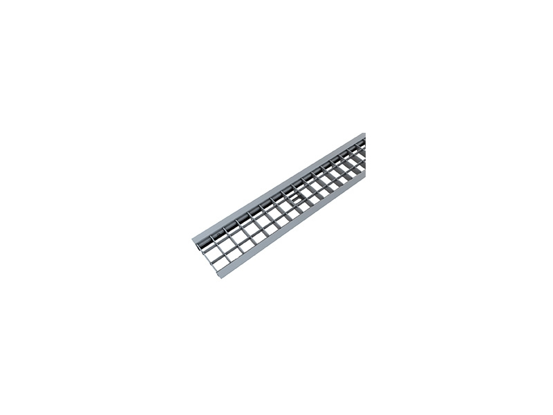 FLAT 100/55 + GRID GALVANIZED STEEL