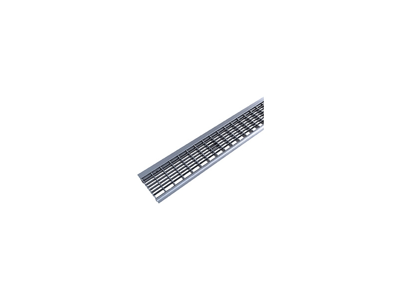 FLAT 100/80 + GRID GALVANIZED STEEL
